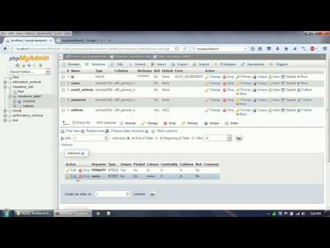 Work on MySQL Database using phpMyAdmin and MySQL Workbench IDE