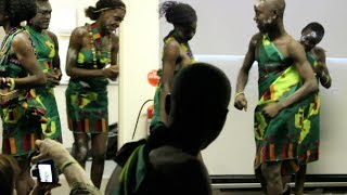 Zambia Students Perform Traditional Dance While On Visit To Australia