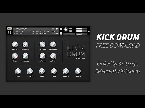 99Sounds Kick Drum DEMO (FREE Sample Pack)
