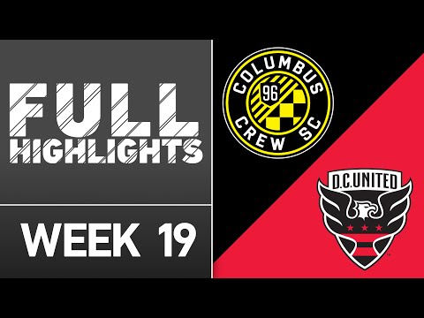 HIGHLIGHTS: Columbus Crew SC vs. DC United | July 16, 2016