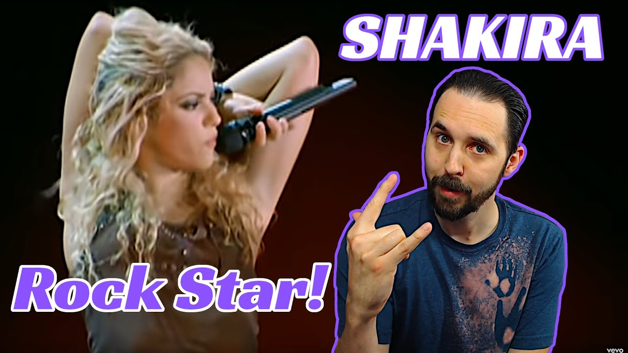Download Shakira Live Reaction for Poem To A Horse! She's A Rock Star!