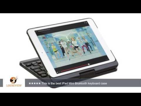 SHARKK Backlit Bluetooth Keyboard for iPad Mini, iPad Mini Retina and iPad Mini 3 (SK365BKLT-BLK) |