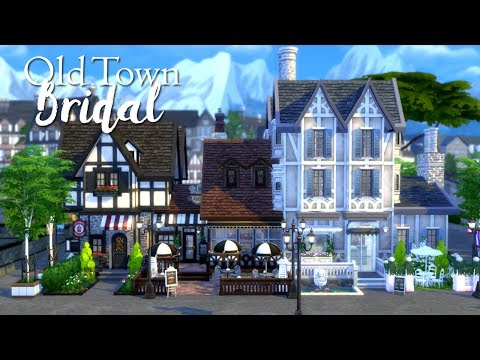 The Sims 4 | Speed Build: Old Town Bridal