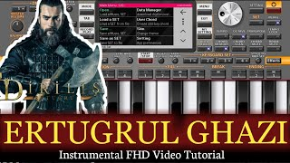 Download song Ertugrul Ghazi Piano Tutorial    Theme     Cover on Mobile App ORG + Easy Tutorial   Music Melody
