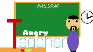 MAKE JOKE OF - ANGRY TEACHER - Mjo Cartoon - Kanpuri Style