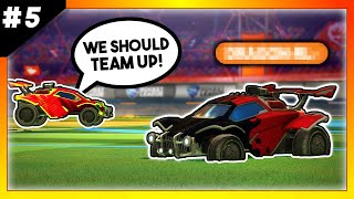 I teamed up with the FIRST PERSON I found in ranked | 2's Until I Lose Ep. 5 | Rocket League