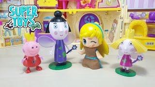 PINYPON NUOVI GIOCHI, giochi per bambine, Cenerentola, Holly, Tata Susina e Peppa Pig, nuove amiche!