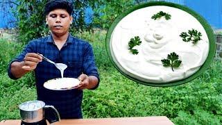 2 മനററ കണട  മയണസ വടടൽ തനന ഉണടകക!!! How To Make Mayonnaise At Home  Recipe
