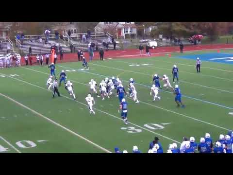 Montclair's Danny Webb breaks 80yard TD run vs. Ridgewood