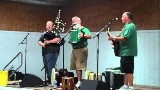 O'Shaughnessy and Hyland at the Great American Irish Festival