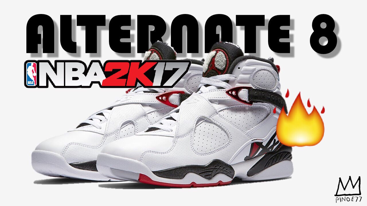 HOW TO MAKE JORDAN 8 ALTERNATE | NBA 2K17