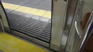 東海道本線211系普通列車浜松行き西焼津駅ドア開閉シーン2020.05.19.
