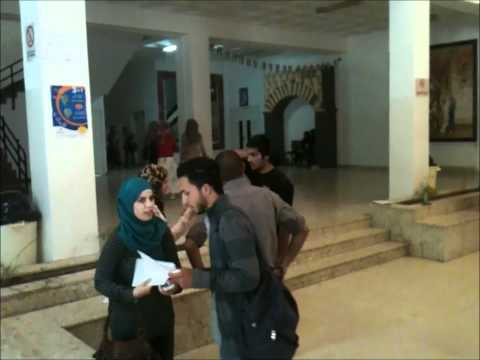 reading Freeze FlashMoB At Hashemite University - الجامعة الهاشمية