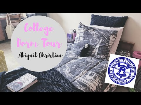 ♡ HBCU DORM TOUR ♡ (v. detailed) | Bennett College