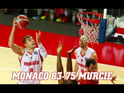 BCL — Monaco 83 - 75 Murcie — Highlights