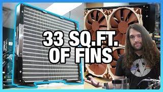 9980XE Overclocking Stream Recap: Massive MORA3 Radiator thumbnail