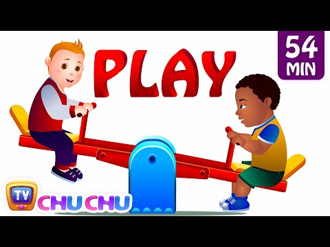 Play In The Park and Many More Playground Songs  Nursery Rhymes Collection  ChuChu TV Kids Songs