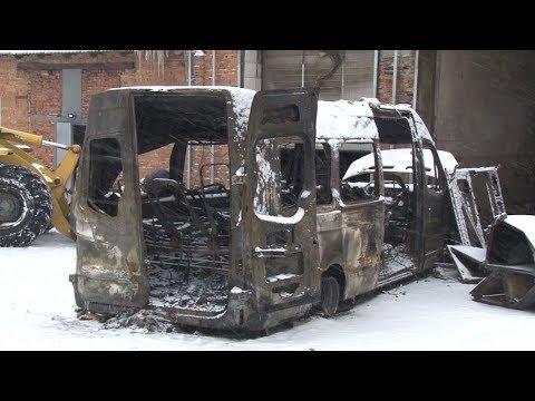Сюжет ТСН24: К поджогу микроавтобусов в Кимовске могут быть причастны конкуренты перевозчиков