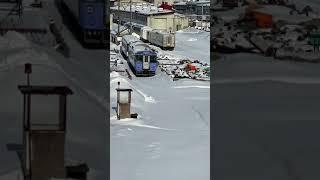 JR苗穂駅からの風景#JR北海道#電車#札幌市#苗穂工場