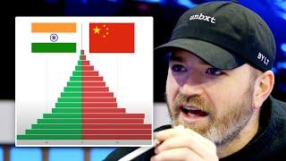 India vs China Population Race