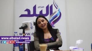 ميس حمدان تغني 'بحب اللى يحبك' لايف في ندوة 'صدى البلد'.. فيديو