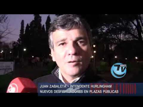 Juan Zabaleta Intendente Hurlingham