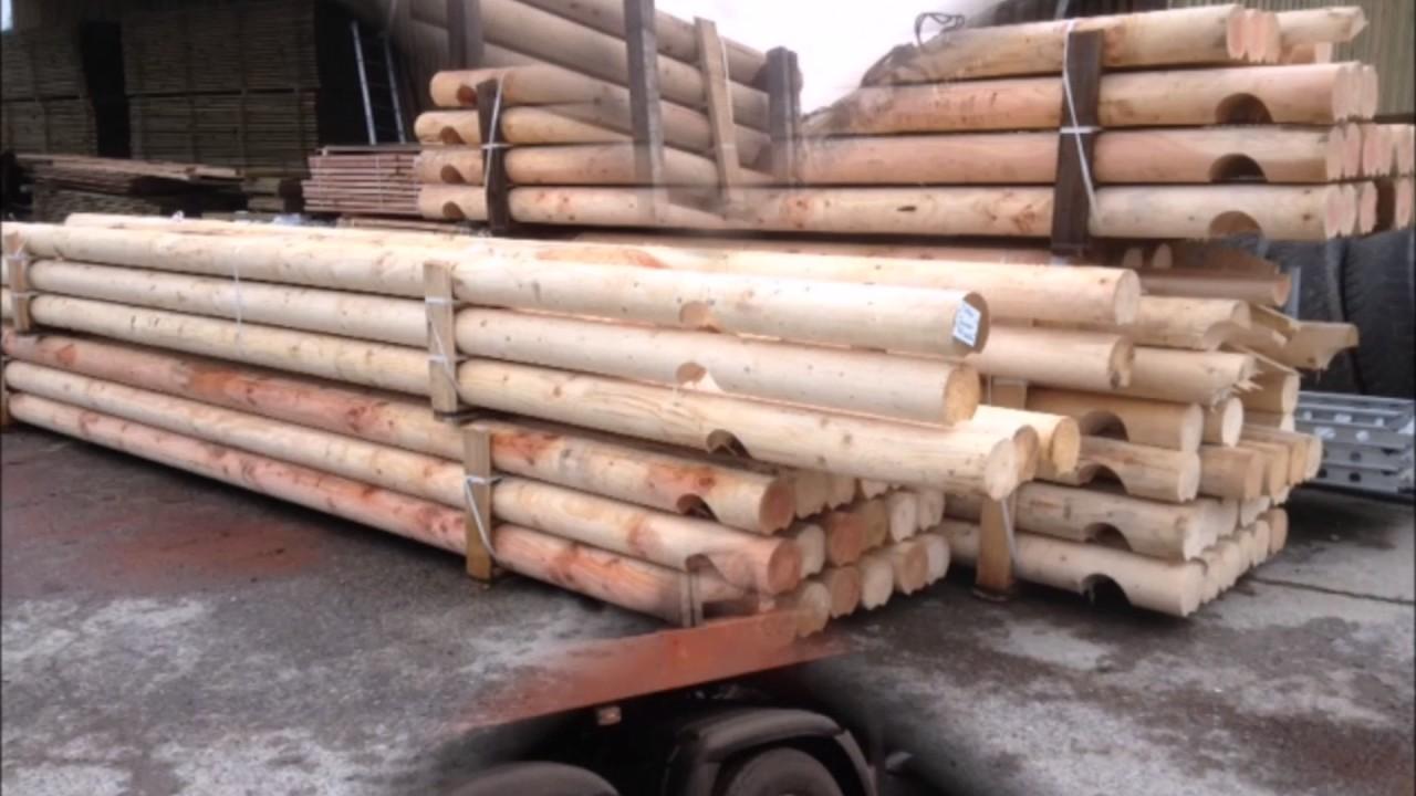 Huet bois construction de chalet en rondin youtube for Construction de chalet en bois