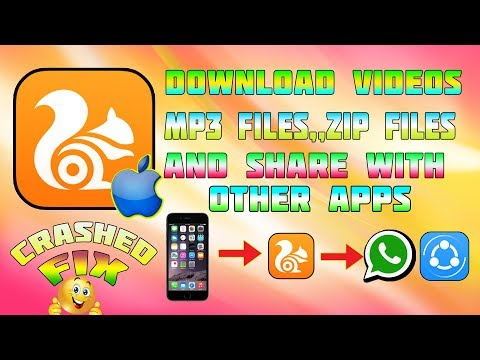 New Uc Browser - Download videos,mp3 Files, Zip files | Iphone -ipad - Ios 9/10/11