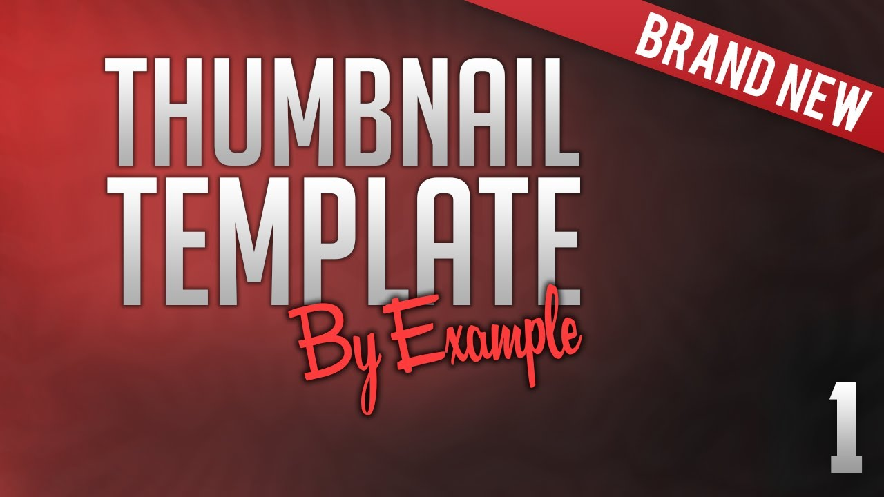 Free Video Thumbnail Template PSD | 2016 - YouTube