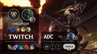 Twitch ADC vs Aphelios - EUW Challenger Patch 10.3