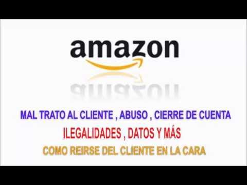 Amazon cierra tu cuenta por no enviar un fax y tus datos bancarios