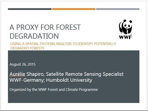 Learning Session 36: A proxy for forest degradation