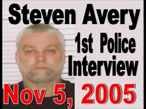Steven Avery 1st Police Interrogation / Interview Nov 5, 2005 - Making a Murdererer Teresa Halbach