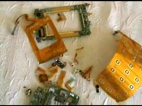 How to Scrap Cell Phones - for Gold Recovery * * *