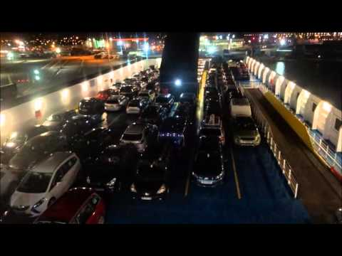 (Portsmouth To Le Havre On Etretat Brittany Ferries Crossing Overnight).