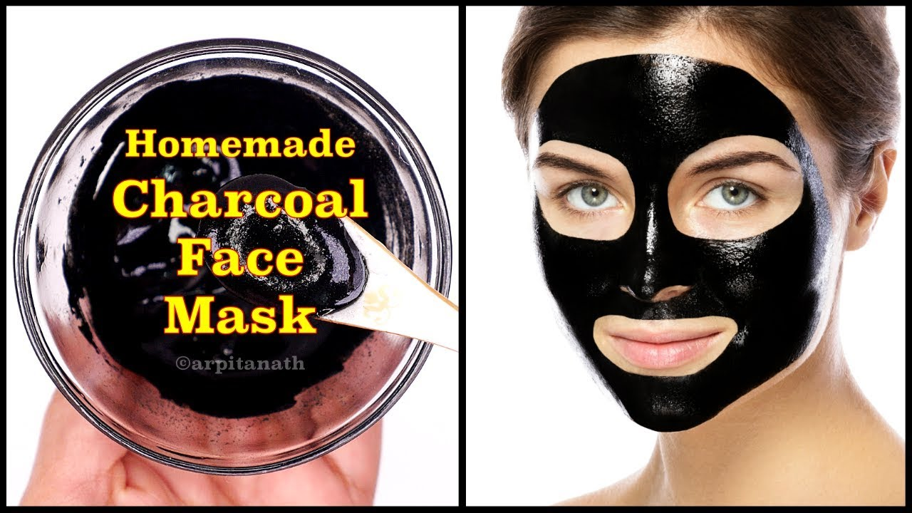 Homemade Charcoal Face Mask ...