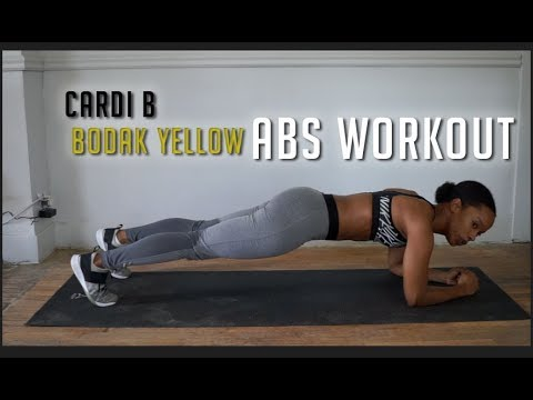 Cardi B Bodak Yellow Abs Workout Youtube