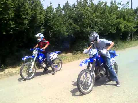 Yz250 Vs Ttr250 Youtube