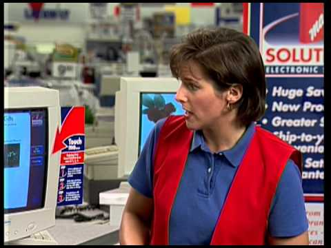 57f1ad09e7 Kmart Solutions 1998 - In-Store Online Shopping Concept - YouTube