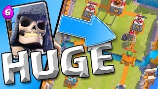Clash Royale :: BEATING THE BEST...TWICE! :: GIANT SKELETON HAHAHA