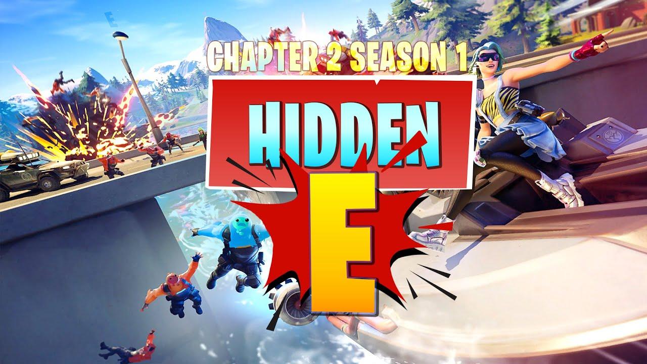 Hidden E Letter Location In New Loading Screen Fortnite Chapter 2 Season 1