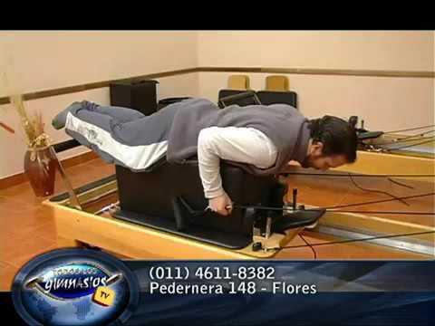 Pilates reformer con box