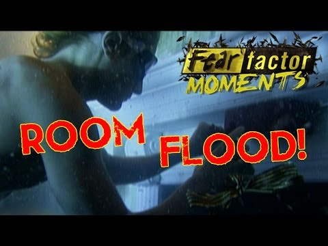 Fear Factor Moments | Sinking Room Escape