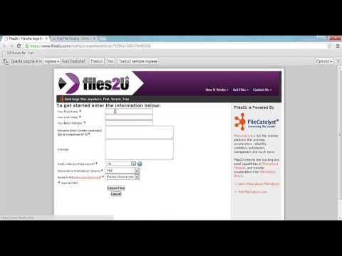 Inviare e-mail con Allegati molto grandi - Giga Mail