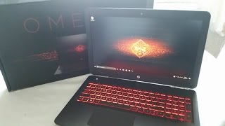 HP Omen 15 ( 2017 Gaming Laptop Unboxing Review)