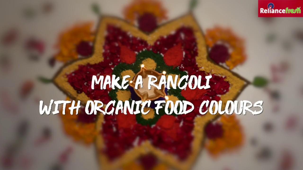 Organic Rangoli | Festive Decor Hack | #BadiDiwali