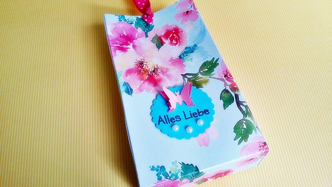 Basteln geschenk verpackung ganz einfache for Geschenk fa r onkel basteln