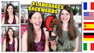Can You Identify Languages SPOKEN BACKWARDS? (feat. Dana from Wanted Adventure)