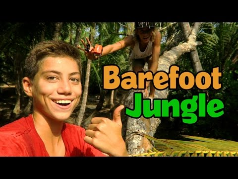 Barefoot Adventuring Costa Rica Jungle!