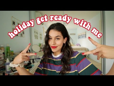 get ready with me for the holidays!